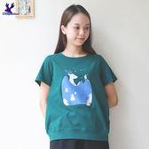 【早秋新品】American Bluedeer- 山林小鹿棉T(魅力價)  秋冬新款