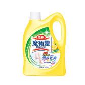 魔術靈 地板清潔劑鮮採檸檬2000ml x 6入