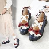 梅露露lolita鞋日系原創果泡甜心洛麗塔軟妹jk小皮鞋女蘿莉娃娃鞋 瑪麗蘇