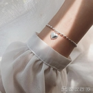 2021新款s925純銀小米粒愛心手錬女韓版七夕簡約個性爆款閨蜜飾品