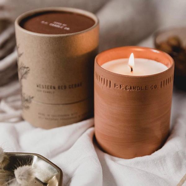 P.F. PF Candle Co 陶罐蠟燭 Terra系列 【PF001】香氛蠟燭 8oz