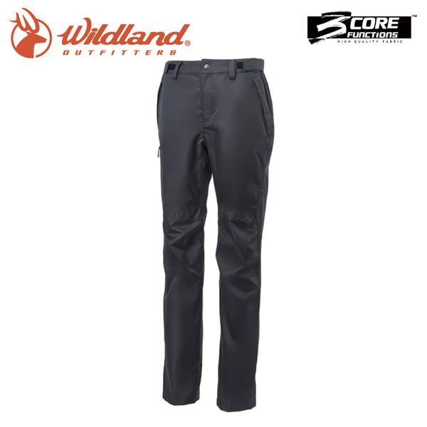 【Wildland 荒野 女 防水防風保暖長褲《黑》】W2329/雪褲/運動褲/工作褲/登山