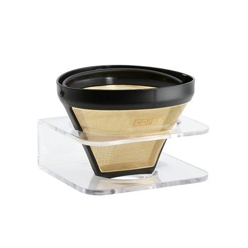 金時代書香咖啡 Cores 金屬濾杯 Gold Filter 1-10 cups