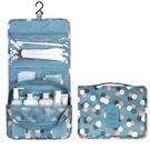洗漱包 廠家直銷旅行收納袋 懸掛收納袋化妝包折疊手提整理包 掛鉤洗漱包