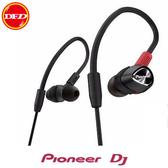 (現貨優惠) 先鋒DJ Pioneer 耳道式DJ監聽耳機 DJE-2000 黑色 公司貨 含稅免運 DJE2000