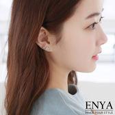 簡約三角蛋白石8 件組耳環Enya 恩雅正韓飾品【EASS7 】