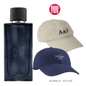 Abercrombie&Fitch 湛藍男性淡香水100ml(贈)A&F品牌棒球帽(贈品依實際出貨為準)★Vivo薇朵