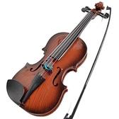 兒童小提琴玩具小提琴樂器初學者入門小提琴真弦可彈奏送鬆香 小宅君