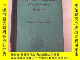 二手書博民逛書店lectures罕見on functions of a comp