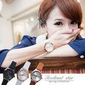 正韓 STACCATO品牌手錶 玫瑰金邊超美簡約真皮錶 手錶【WSA88】☆璀璨之星