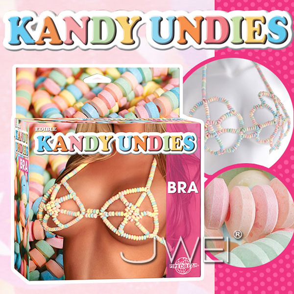 傳說情趣~美國原裝進口PIPEDREAM.EDIBLE KANDY UNDIES糖果比基尼-BRA