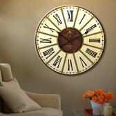 大掛鐘錶  (鐵面直徑34cm)-M1407