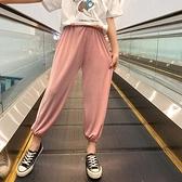 女童夏裝抖抖褲2020新款兒童裝洋氣冰絲休閒長褲中大童寬鬆防蚊褲