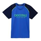 『小鱷魚童裝』吸濕排汗拼接透氣T恤(10號~18號)557412