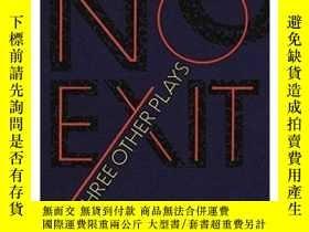 二手書博民逛書店薩特:禁閉和其他戲劇罕見英文原版 No Exit and Three Other Plays Jean-Paul