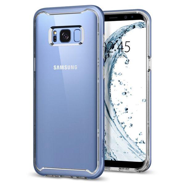 【免運】SGP Samsung S8 S8 Plus  Neo Hybrid Crystal 雙層邊框保護殼 防撞保護殼 手機殼 三星 Spigen