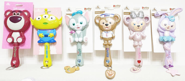 【現貨在台】達菲 雪莉玫 史黛拉兔 畫家貓 熊抱哥 三眼怪【美少女造型梳】香港代購 迪士尼樂園