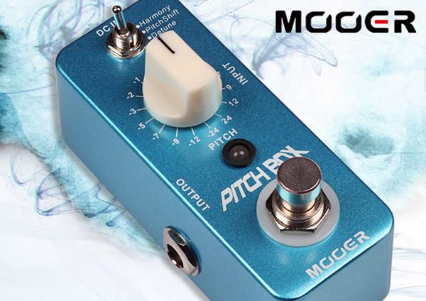小叮噹的店- MOOER Pitch Box 移調 單塊 效果器 (MREG-PB) 電吉他效果器