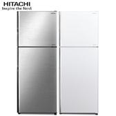 日立 HITACHI RV409  403L 雙門冰箱 冷凍族群最適 冷凍室125L超大設計