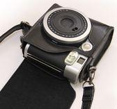 富士一次成像拍立得mini90專用相機包 皮套 90專用皮包  享購