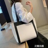 大包包女包2019新款潮韓版百搭時尚單肩包風大容量學生托特包『艾麗花園』