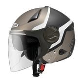 ZEUS 瑞獅安全帽,ZS-612A,AD9/消光黑銀白