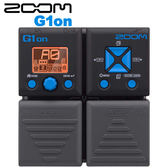【非凡樂器】ZOOM G1on 電吉他綜合效果器 / 贈整流器&導線 公司貨保固