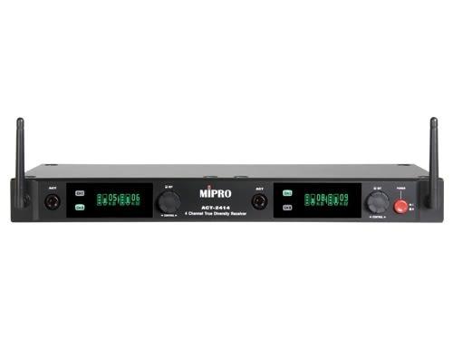 ^聖家^MIPRO 嘉強2.4G 1U四頻道接收機(具SCAN掃頻功能) ACT-2414【全館刷卡分期+免運費】