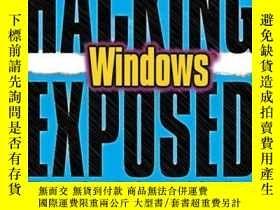 二手書博民逛書店Hacking罕見Exposed WindowsY256260 Joel Scambray Mcgraw-hi