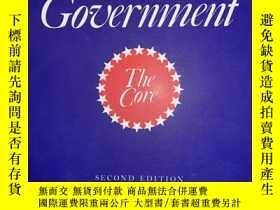二手書博民逛書店American罕見Government: The Core (Second Edition)Y232925