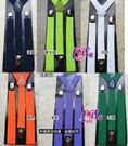 來福,k685吊帶三夾2.5cm表演跳舞比賽男女背帶吊帶三夾褲帶夾,售價100元