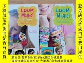 二手書博民逛書店LOOM罕見MAGIC(2本合售)Y246207