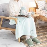 【週年慶倒數3天 8折起】棉朵舒舒寶貝蓋毯組-恐龍-生活工場