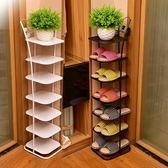 好評推薦鞋架多層簡易現代簡約經濟型家用客廳省空間多功能收納鐵藝鞋柜子