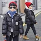 男童棉衣 童裝2020冬裝新款兒童洋氣棉...