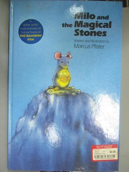 【書寶二手書T1/兒童文學_WDT】Milo and the Magical Stones_Marcus Pfister