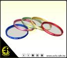 ES數位館 Massa 亮彩系列 彩色 UV 保護鏡 37mm 紅色 金色 藍色 綠色 粉紅色