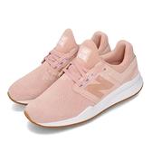 New Balance 慢跑鞋 NB 247 粉紅 白 女鞋 二代 麂皮 運動鞋 【ACS】 WS247CEB