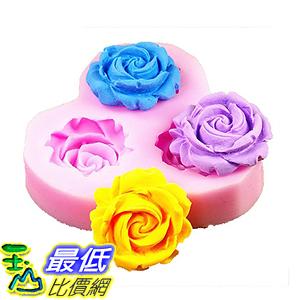 [美國直購] Longzang F0130 翻糖 蛋糕 模具 DIY Cake Decorating Fondant Silicone Sugar Craft Mold, Mini