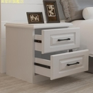 簡易床頭柜收納小型柜子簡約現代輕奢臥室床邊北歐式40cm寬經濟型 現貨快出YJT