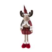 聖誕麋鹿站姿擺飾49cm-女