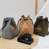 微单保护套单反内胆包尼康佳能索尼富士便携收纳袋镜头摄影相机包 創意家居