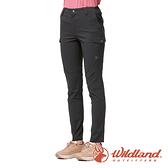 【wildland 荒野】女 彈性CORDURA 抗UV功能長褲『煙燻色』0A91337 戶外 休閒 運動 吸濕 排汗 快乾