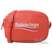 茱麗葉精品【全新現貨】BALENCIAGA 巴黎世家 489809 EVERYDAY 小牛皮斜背MINI相機包.紅