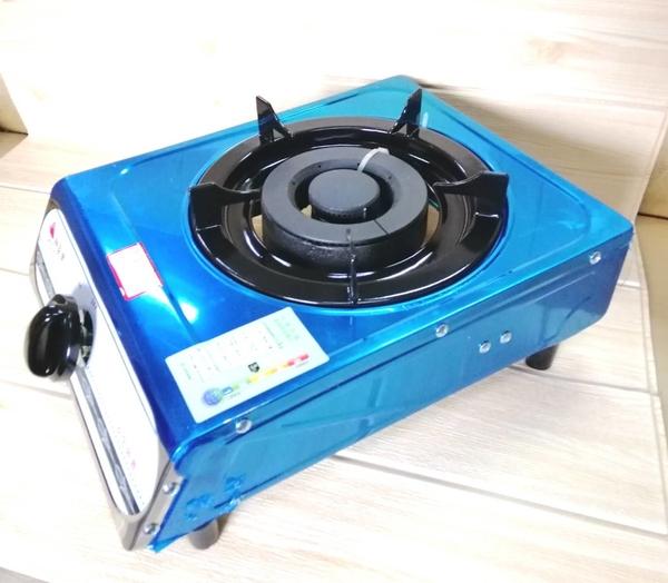 黑蓋白鐵大單口爐附調 KG-6【87765070】另有天然瓦斯款液化瓦斯 非快速爐 小瓦斯爐《八八八e網購