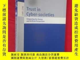二手書博民逛書店Trust罕見in Cyber-societies (小16開)