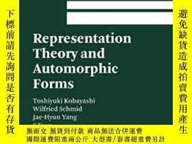 二手書博民逛書店Representation罕見Theory And Automorphic Forms-表象理論與自守形式Y