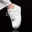 R-NIKE Wmns Air Force 1 07 Ess 白金 白Force 女鞋 金標 穿搭 經典款 休閒鞋 AO2132-102
