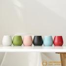 陶瓷小花瓶干花插花器水培現代客廳家居裝飾品擺件【小獅子】