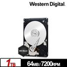 WD 黑標 1TB SATA (7mm)...